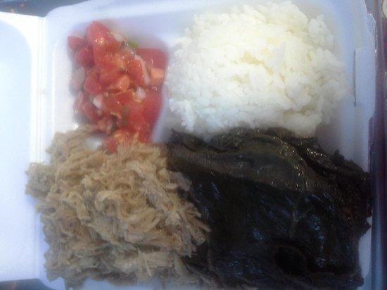 Aloha Lehua Cafe: hawaiian mix plate