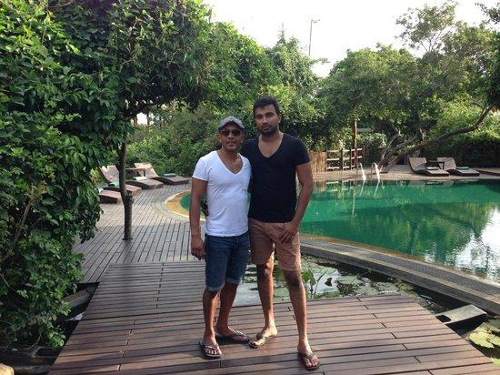 Uga Jungle Beach : Chamal & I