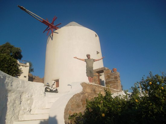 Apostolis Windmill: Our home away from home