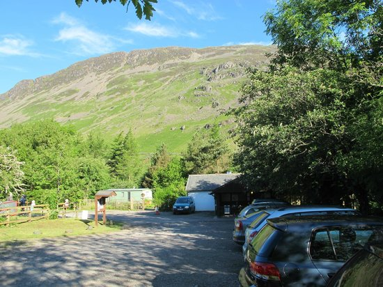 Wasdale National Trust Campsite: View from the campsite