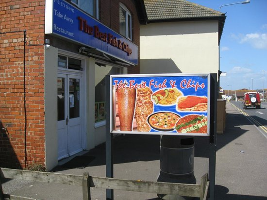 Best Fish and Chips: 'Best Fish & Chips' - Peacehaven.