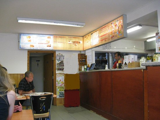 Best Fish and Chips: 'Best Fish & Chips' - Serving Counter.