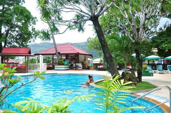 Patong Lodge Hotel : pool