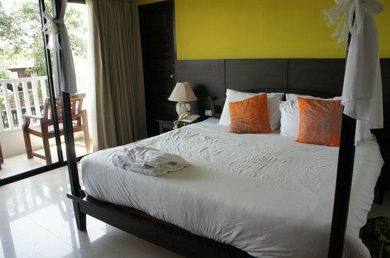 Aonang Buri Resort : ห้องนอน