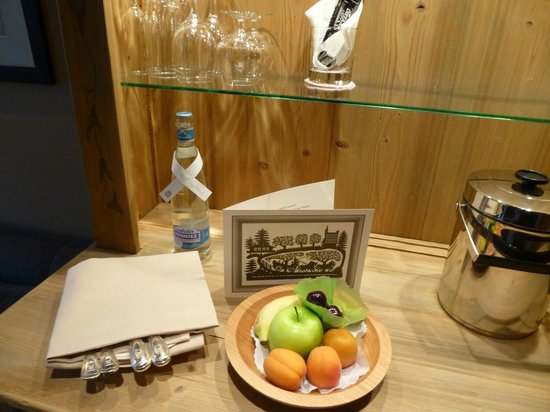 Gstaad Palace Hotel: Welcome Fruit