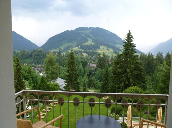 Gstaad Palace Hotel : view from room