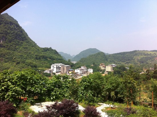 Xishan Xiuju Hostel : View over the area