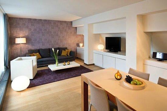Alden Suite Hotel Splügenschloss Zurich: Loft Suite