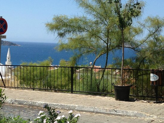 Touch Bistro Kalkan: The view from outside the Bistro