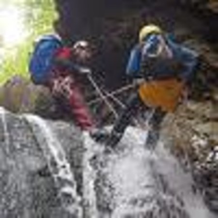 Experience Canyon : rappel