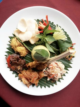 "Our's Bar & Restaurant: Nasi Campur ""Legendary Mixed Rice"""