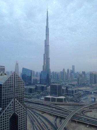 Shangri-La Hotel, Dubai: Burj Khalifa