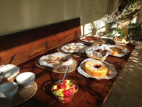 Il Sole Antico: We were delighted by the beautifully prepared breakfast!