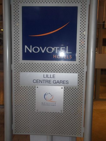 Novotel Lille Centre Gares : THE 4 STAR HOTEL