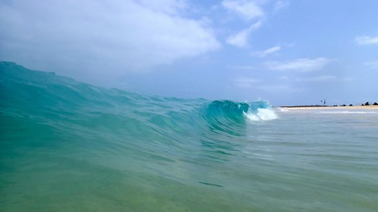 Praia de Santa Maria: Beach