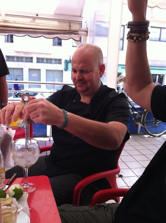 Bar Sa Plaça: Alex, der Meister der Plancha!