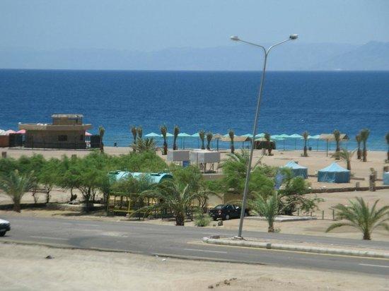 Bedouin MOON village - the public beach