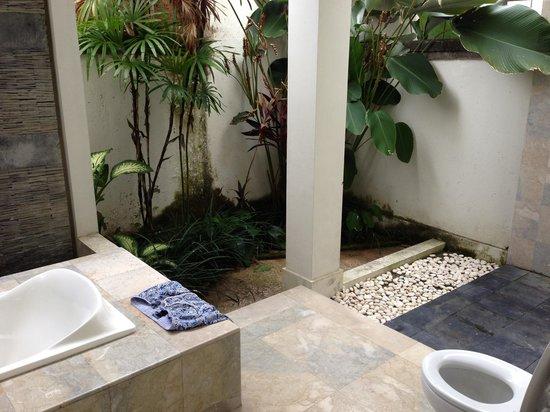 Villa Bali Kubu Rama: State of bathrooms
