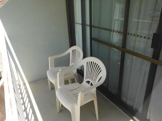 DoubleTree by Hilton Hotel Alice Springs: Balkon,