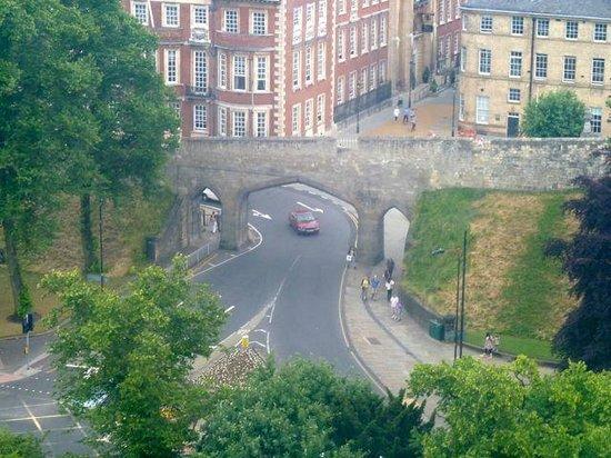 Yorkshire Wheel: York Ferris Wheel - Views Castle Walls