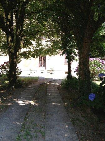 B&B Villa Ermelinda : vialetto ingresso