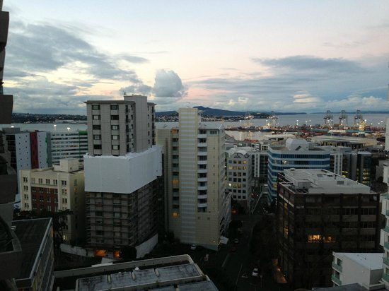 Pullman Auckland: View from room