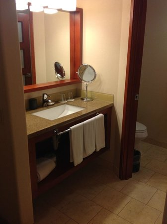 The Paramount Hotel: Bathroom