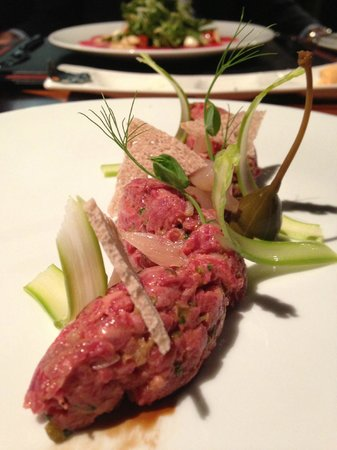 Prime Steakhouse : How good is that beef tartar!!!
