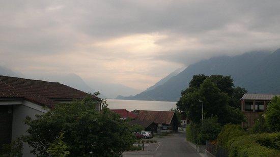 Hotel Lindenhof: Озеро видно из окошка