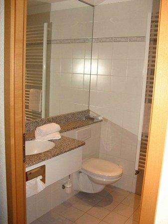 Schwarzwald-Hotel Gengenbach : Baño, pequeño pero aceptable