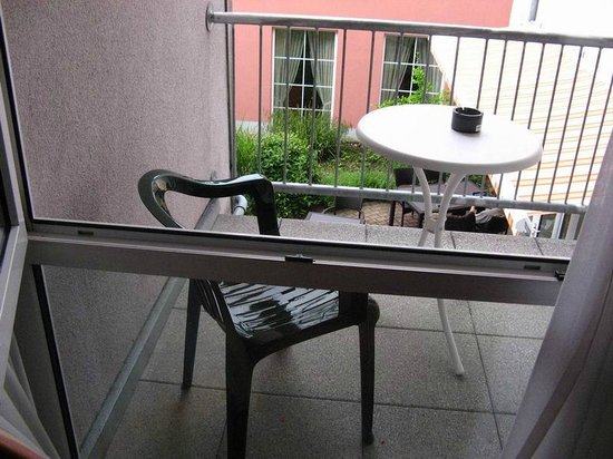 Schwarzwald-Hotel Gengenbach : Mini terraza