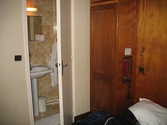 Hotel Bordeaux: wielkość pomieszczeń