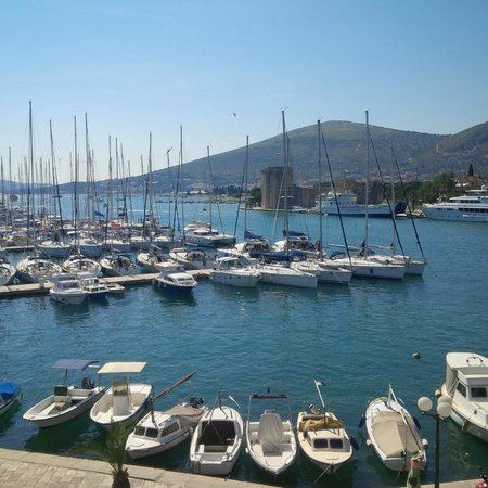 Villa Moretti: View of the Marina
