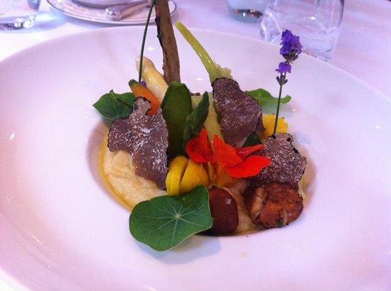 Hotel Au Vieux Moulin : Surprise de légumes