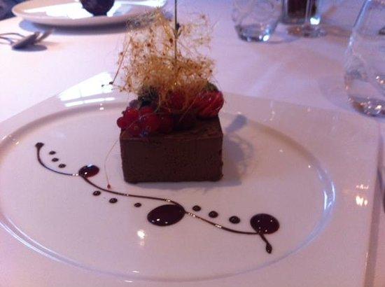 Hotel Au Vieux Moulin : Pavé au chocolat