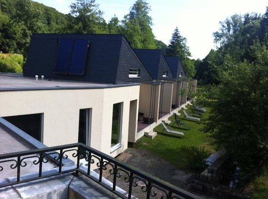 Hotel Au Vieux Moulin: Uitzicht vanaf dakterras