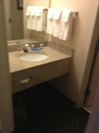 Fairfield Inn St. George: Sink area in room