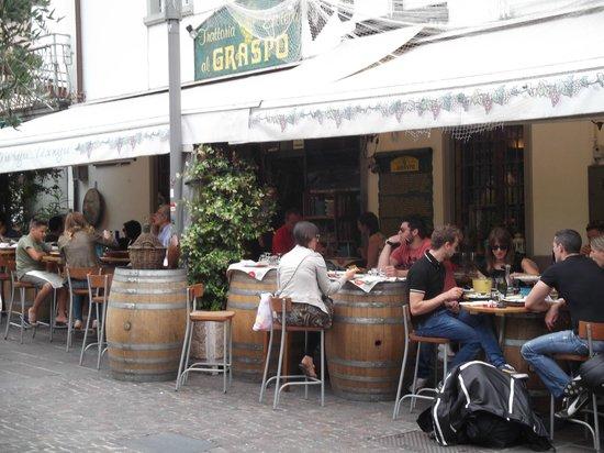 Trattoria Al Graspo: Al Graspos on a Saturday lunchtime.