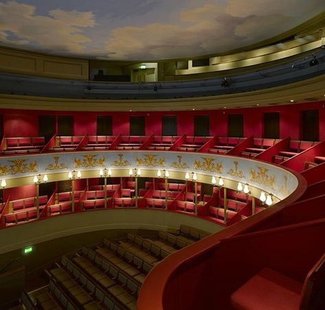 Theatre Royal, Bury St. Edmunds: A view of our auditorium form the Upper Circle