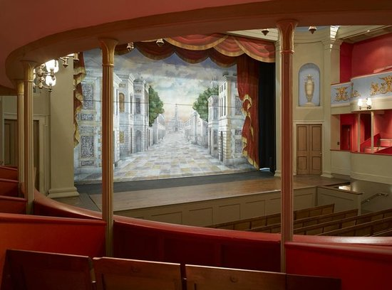Theatre Royal, Bury St. Edmunds: The Stage from the Dress Circle