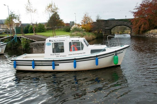 Leitrim Quay: William out for a spin