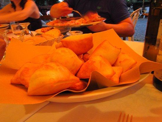 Azienda Agrituristica Il Gelso : gnocco fritto e salume