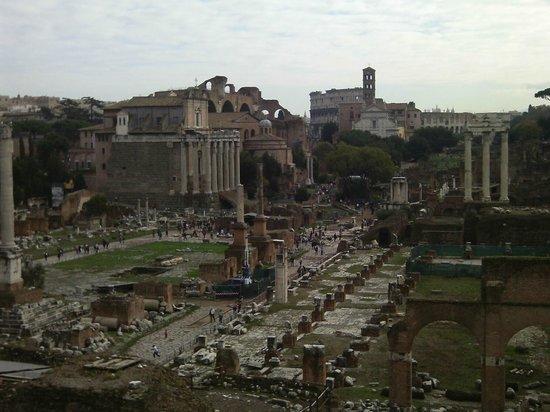 Ancient Rome -  Day Tours: Vista sul Foro Romano
