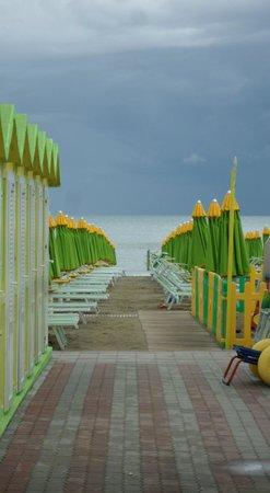 Hotel Morotti: spiaggia
