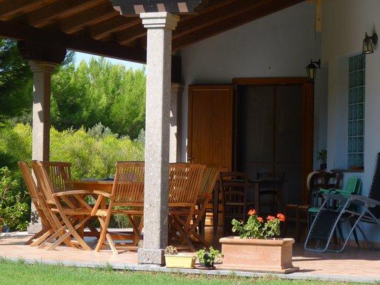 Agriturismo Saboriantigu: Il portico