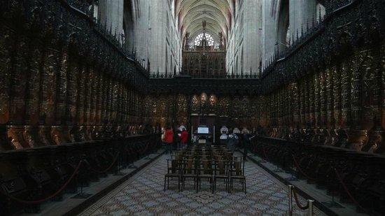 Cathedrale Sainte Marie: Choeur de la cathédrale Sainte-Marie, à Auch