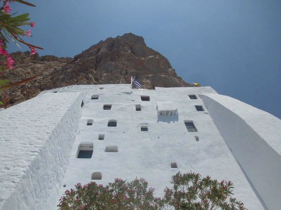 View from bottom - Picture of Monastery of Panagia ...