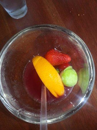 Applebee's: La presentación de las bebidas