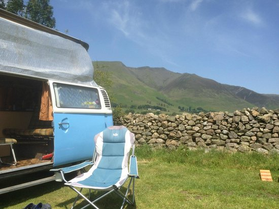 Burns Farm Caravan & Campsite: Stunning views