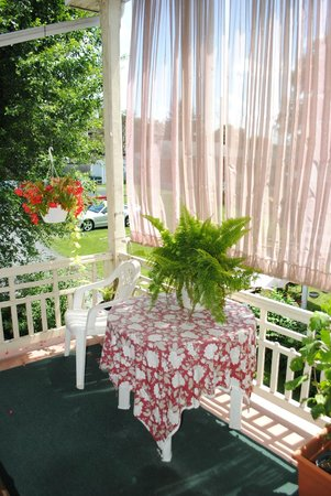 Kromer's Bed and Breakfast : Outside Balcony